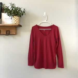 Isabel Maternity Red T-Shirt